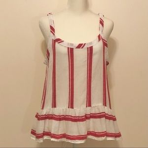For The Republic Red/White Top w/Adjustabl…